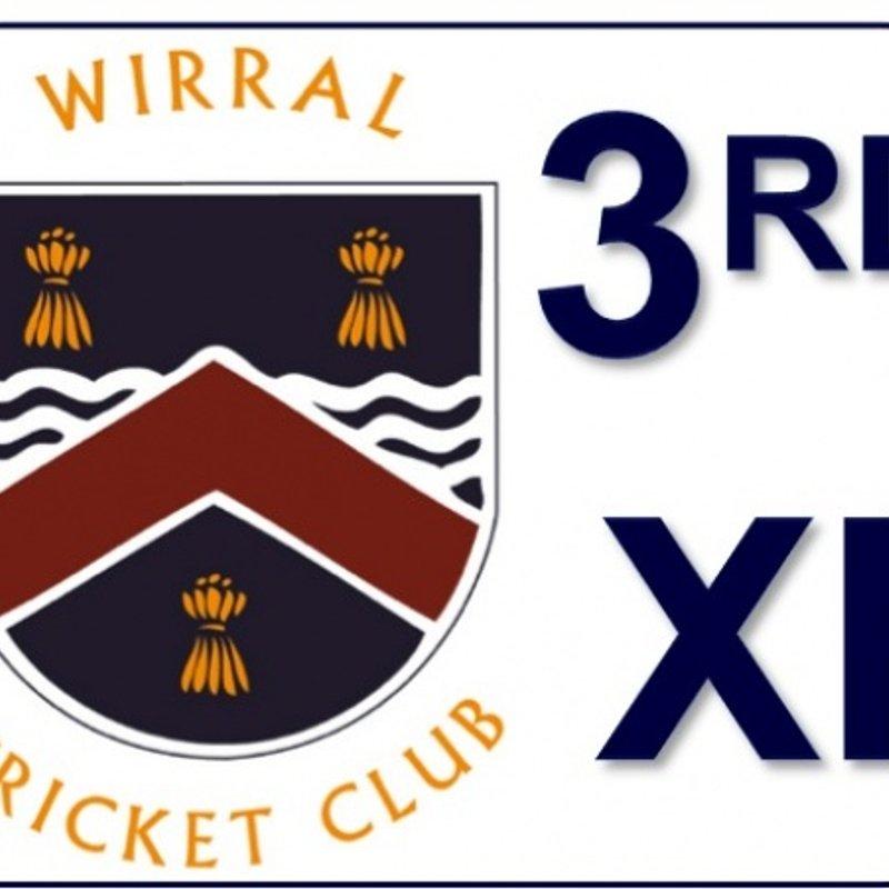 Drawn: Tranmere Victoria CC - 2nd XI - Wirral CC - 3rd XI