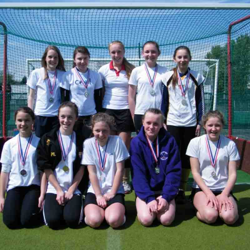 2012 U13 Girls Welsh Runners Up