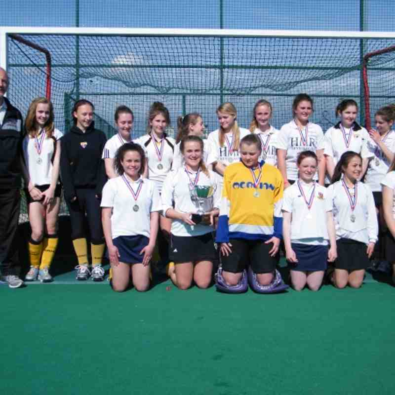 2012 U15 Girls Welsh Champions