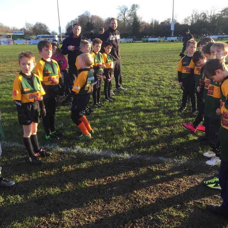 U8 Guard of Honour