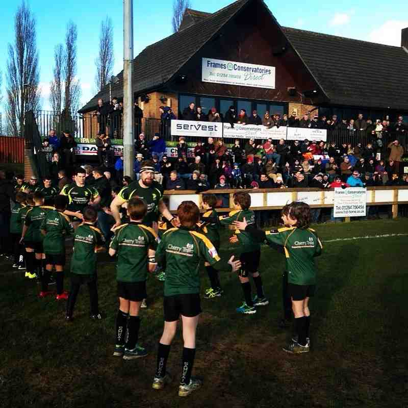 U9 Guard of Honour 30/1/16