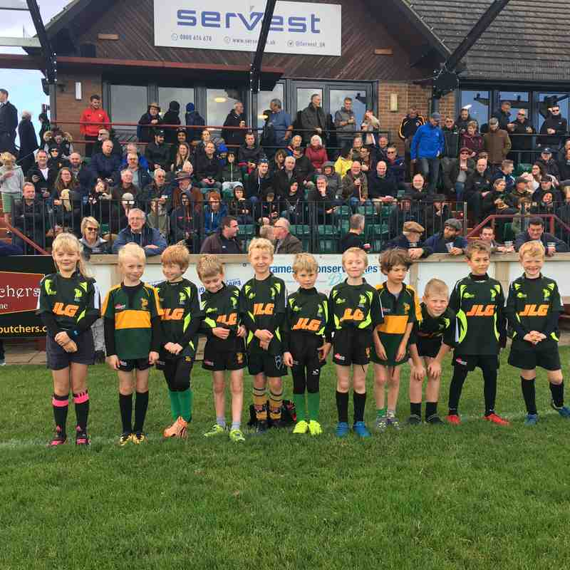 U8 Guard of Honour October 2017
