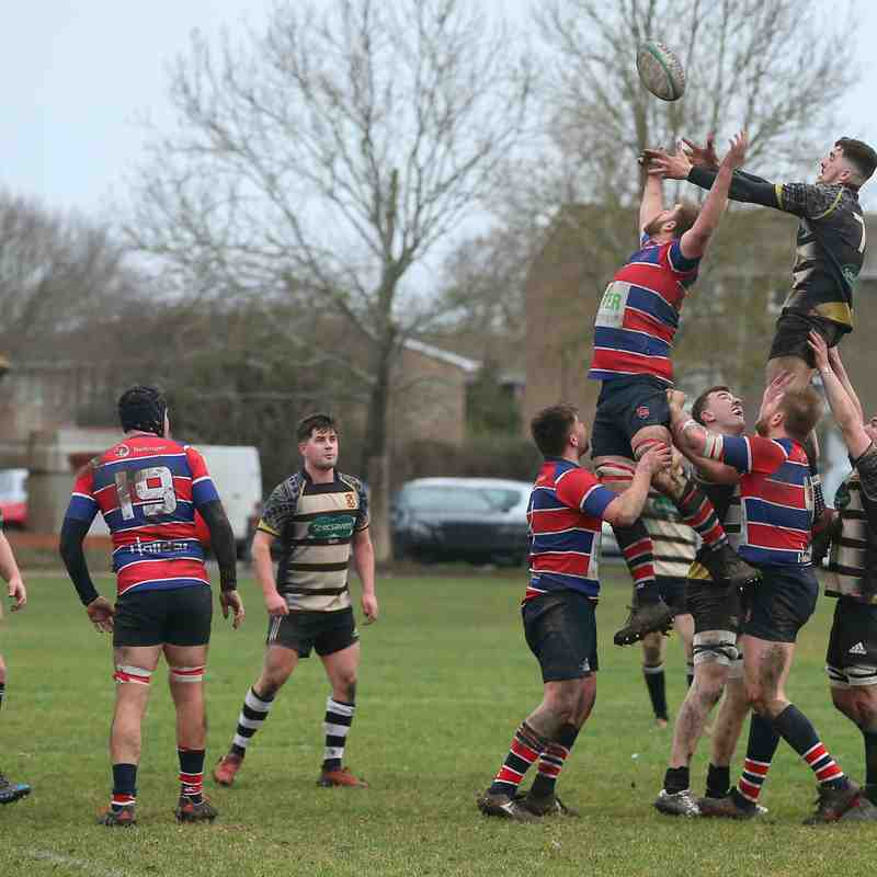Grove 1ST XV v Walcott 26th January 2019