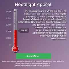 Floodlight Appeal