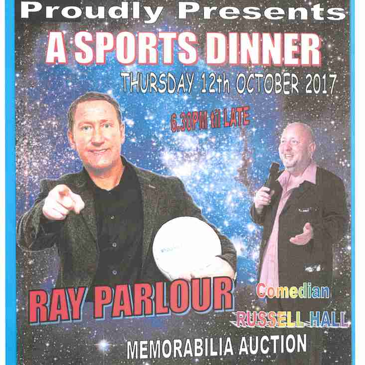 Ray Parlour Sportsmans Dinner