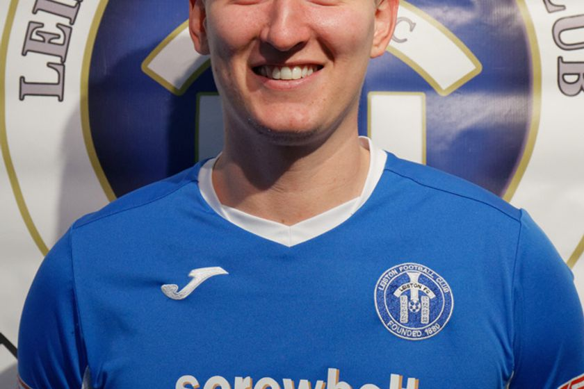 Christy Finch reaches 150 club appearances for Leiston