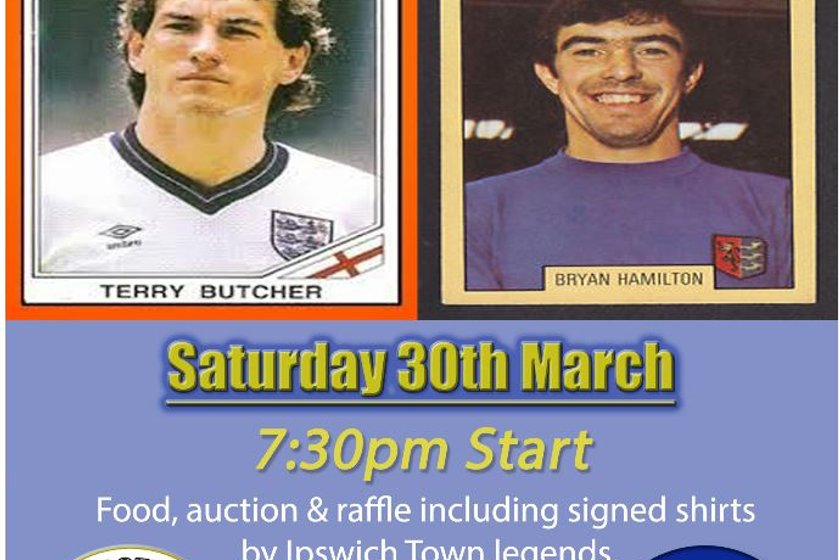 An Evening with Terry Butcher & Bryan Hamilton