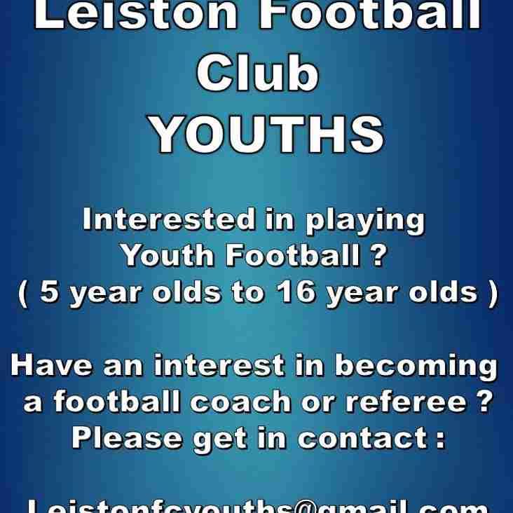Leiston Football Club Youths