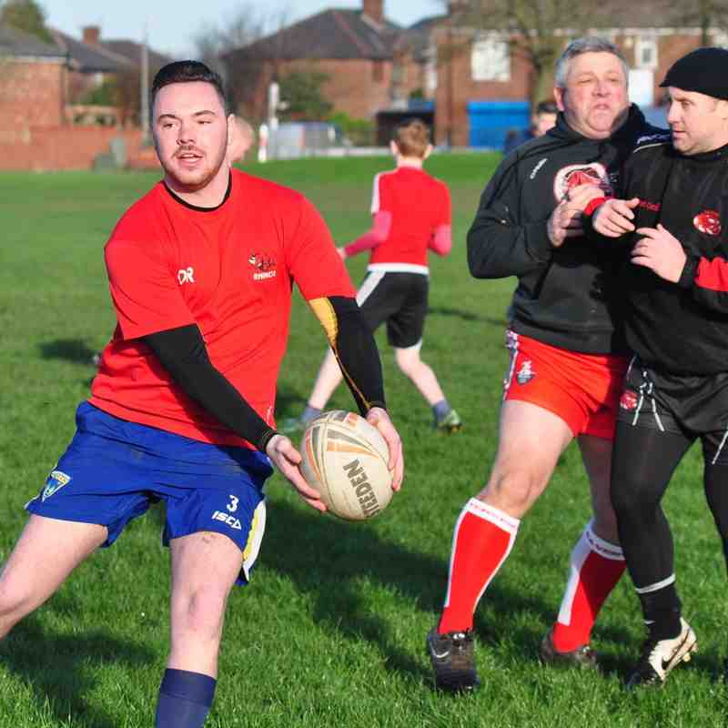 Open Age Touch Rugby 27-12-15