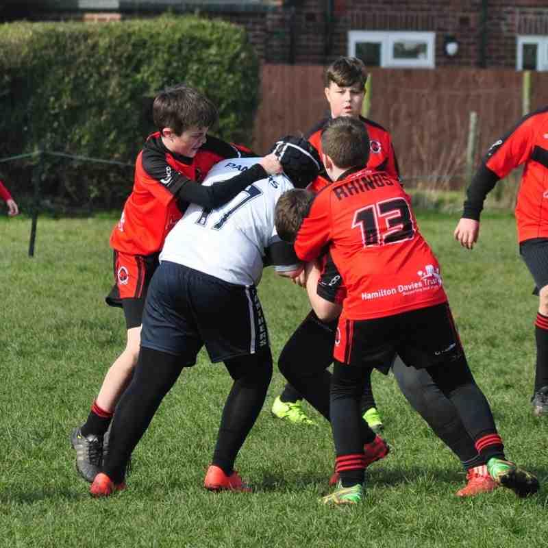 U13s vs Chorley Panthers 13-03-16