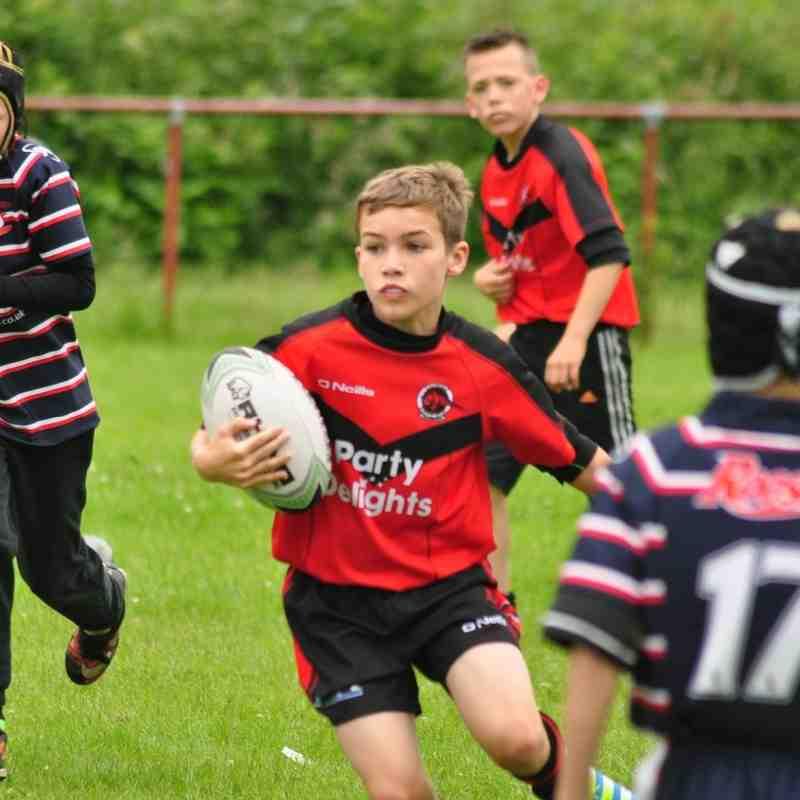 U10s vs Salford City Roosters 26-06-16