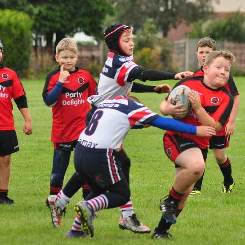 U10s vs Burtonwood Bulldogs 4-09-16