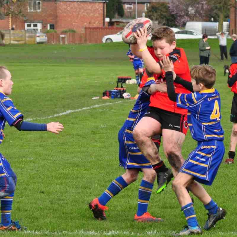 U11's vs Crosfields 12-03-17