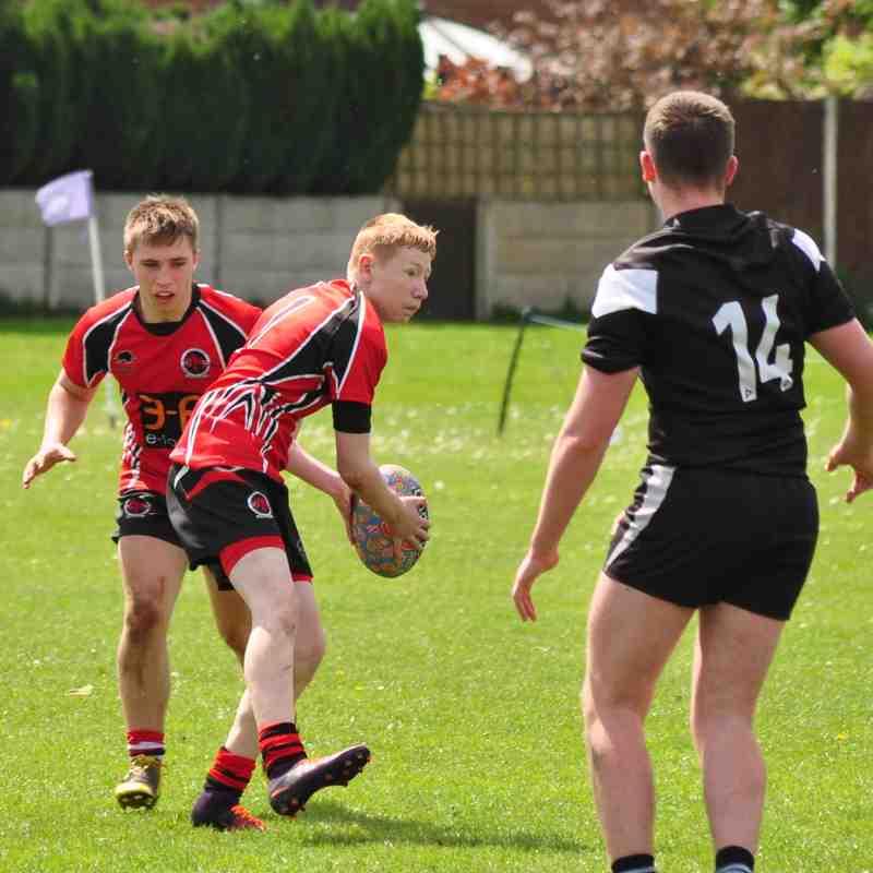 U16's vs Saddleworth Rangers 14-05-17