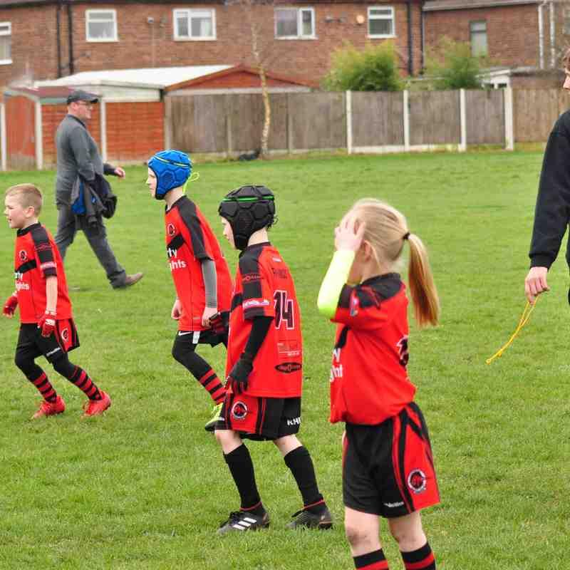U8's vs Wigan Spring View 08-04-18