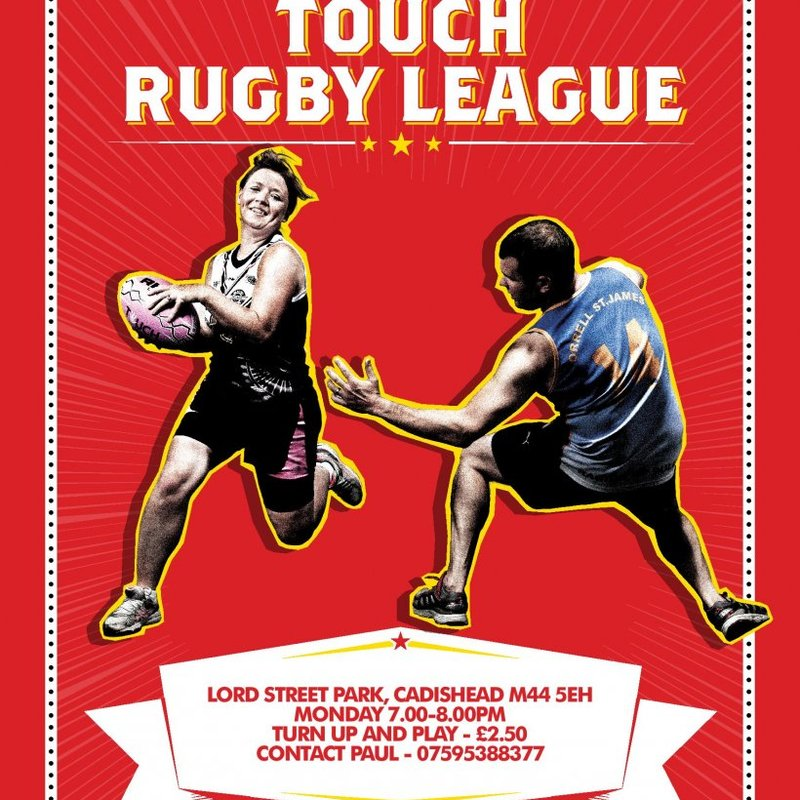 Touch Rugby Returns To The Rec for 2018