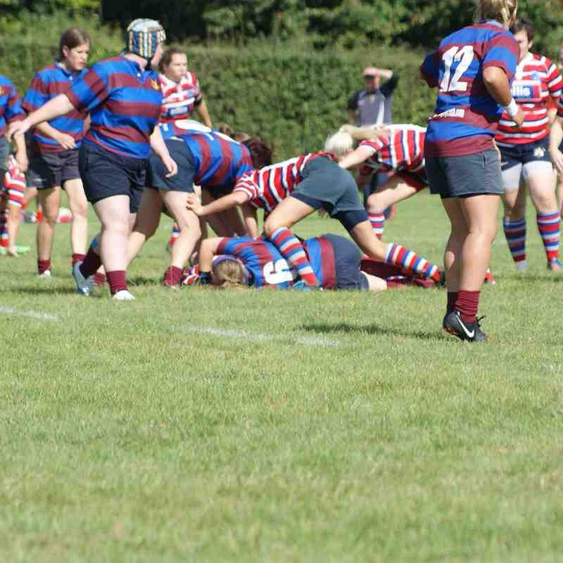 Chesham Ladies 17 - 52 Tonbridge Juddians