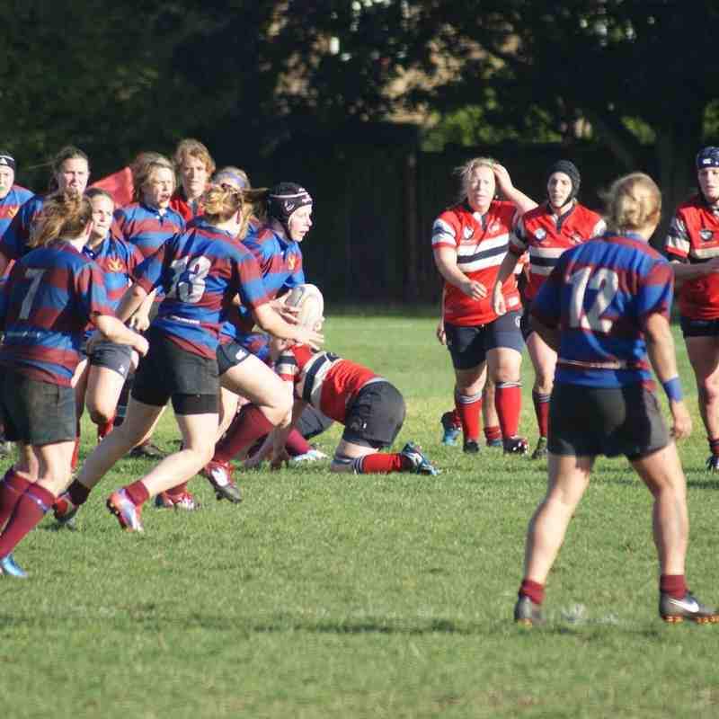 Hammersmith & Fulham 29 - 5 Chesham Ladies