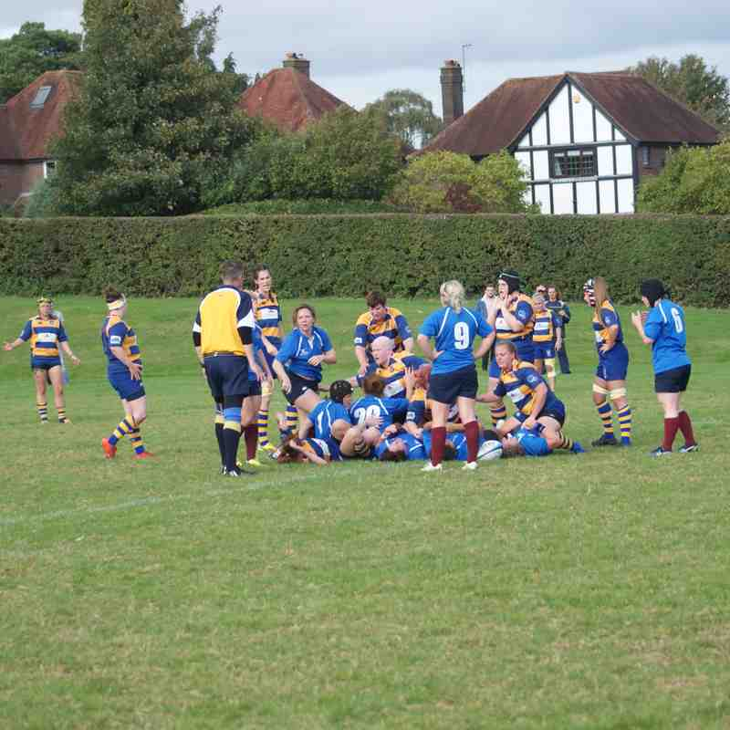 Chesham Ladies 14 - Beckenham 10