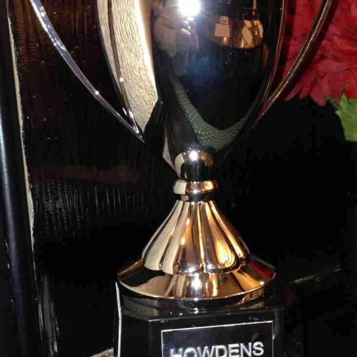 NEW HOWDENS LEAGUE CUP TROPHY UNVEILED