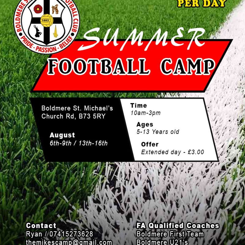 The Mikes Football School (Summer Camp)
