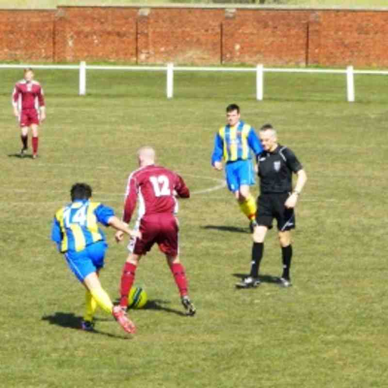 v Shafton Villa Away