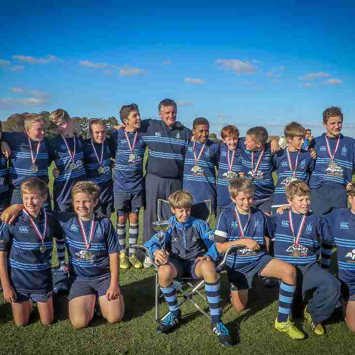 CRFC U13's Win Hampshire Cup