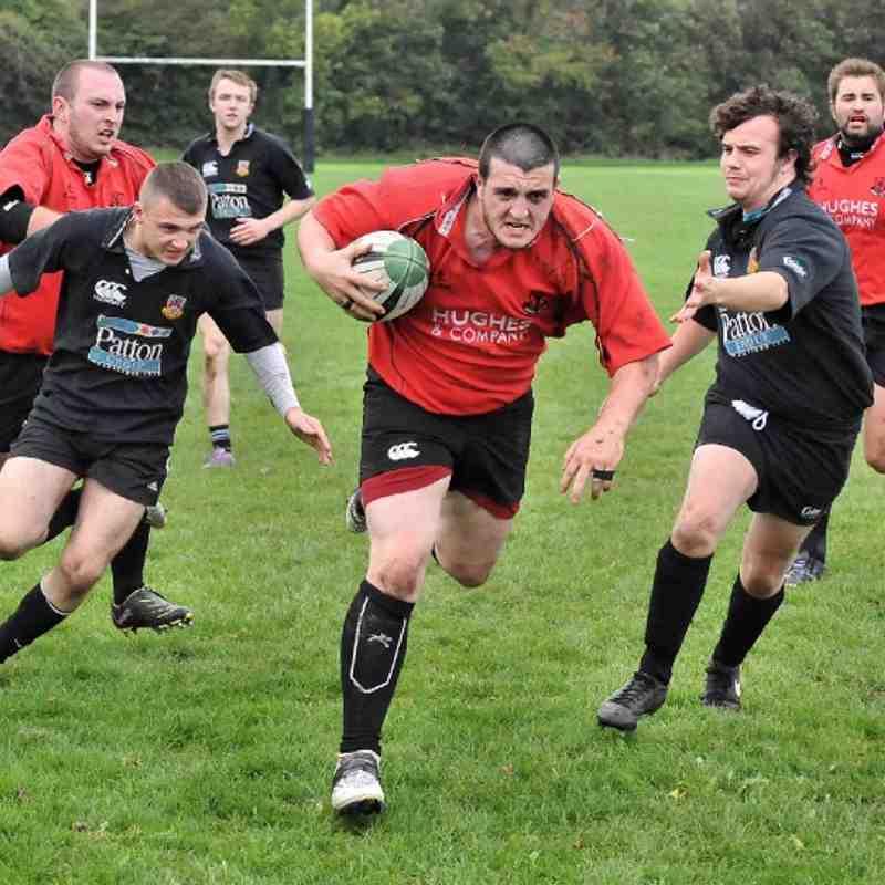 Ards 3rds-v-Ballymena, 9/10/2010