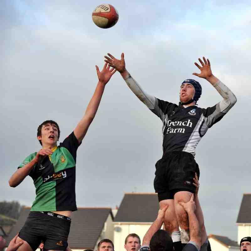 Ards U19's-v-Ballynahinch, 11/12/2010