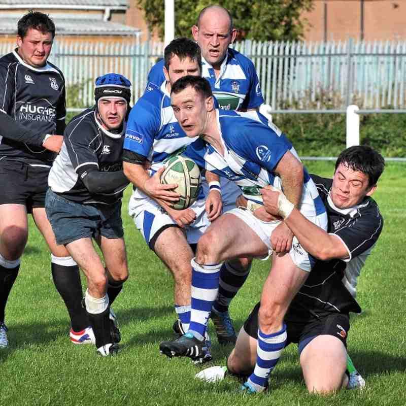Ards 1sts-v-Dungannon. 13/10/2012