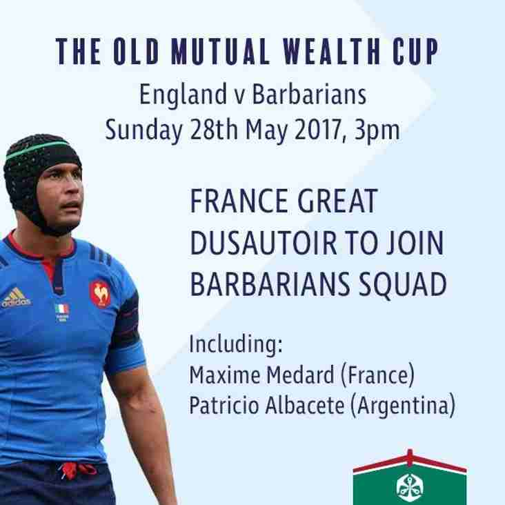 England v Barbarians