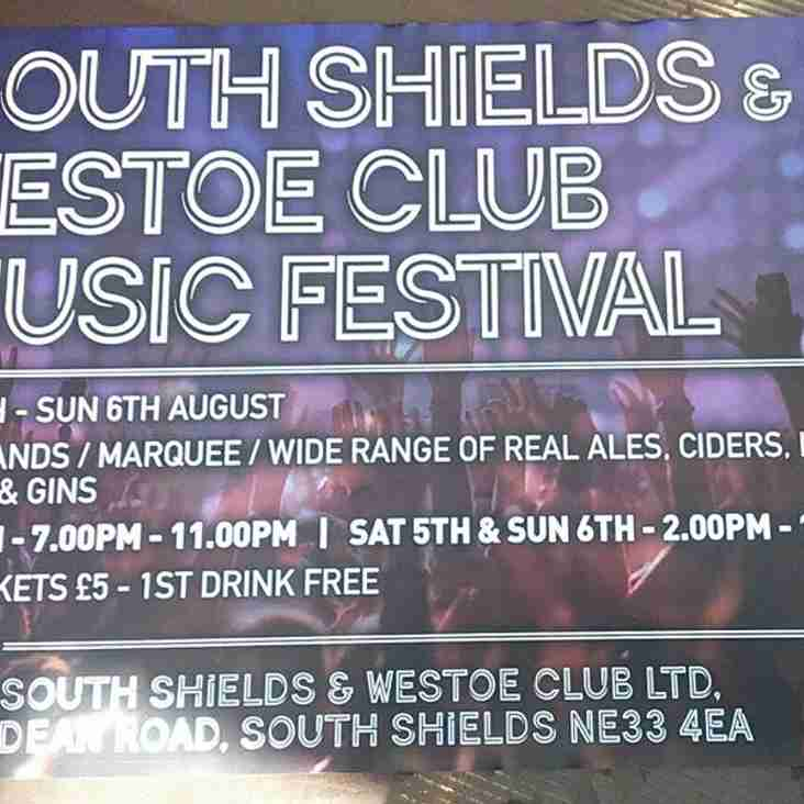 South Shields Westoe Music Festival