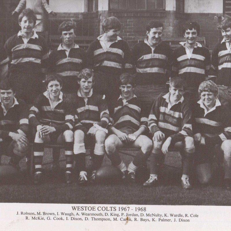 Westoe Colts `1967-68 Golden Jubilee  Reunion