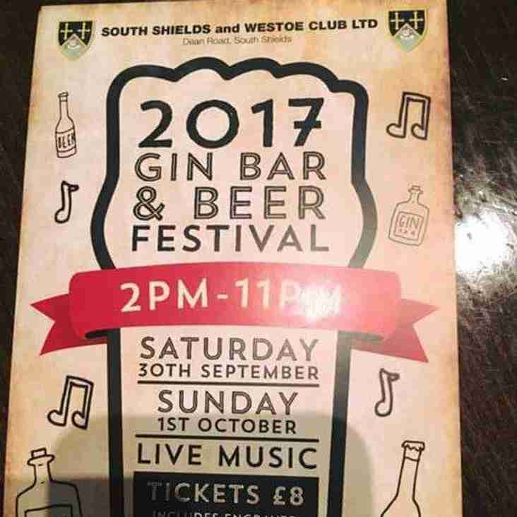 Gin Bar and Beer Festival