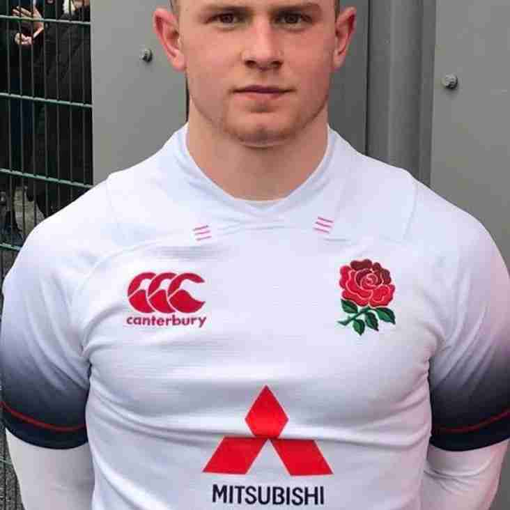 Callum Pascoe on Bench for Falcons v Doncaster Knights