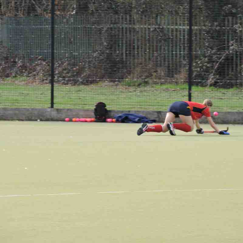 Ladies 1s vs Tunbridge Wells