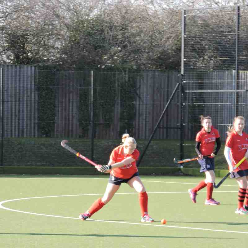 Ladies 3s v Canterbury