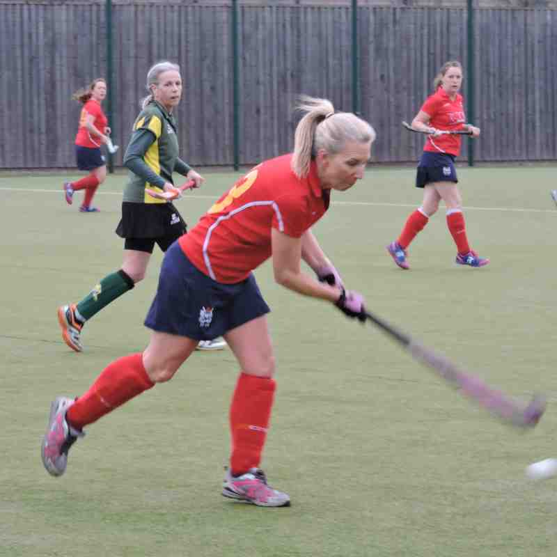 Ladies 4s v New Beccehamians