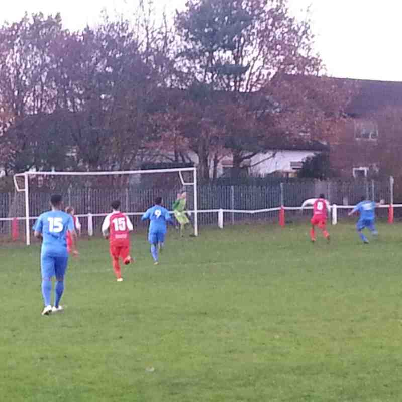 Cadbury Heath 3 Brislington 1