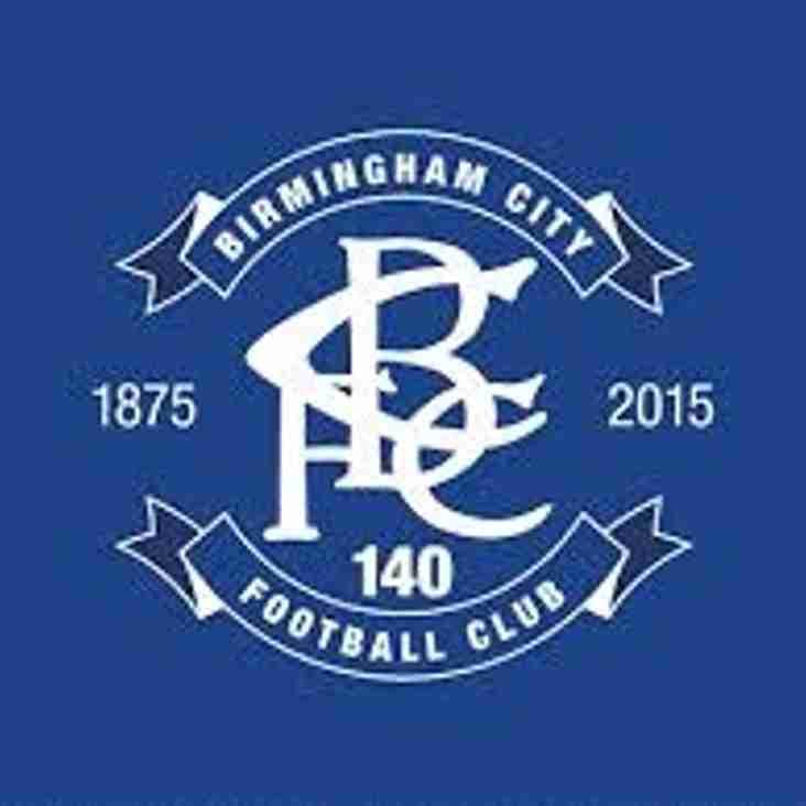 Birmingham City next in Birmingham Senior Cup