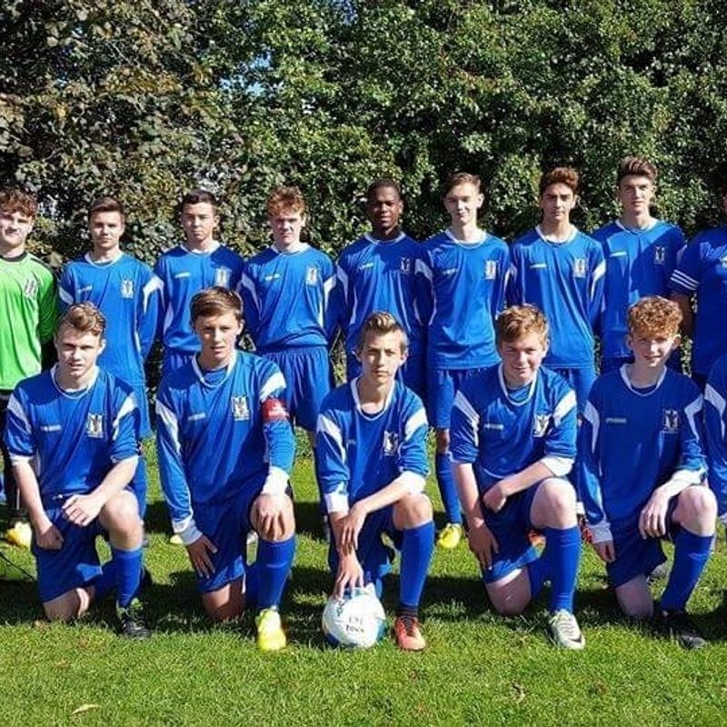 Under 16's SDYFL beat Forest Falcons (West) 0 - 2