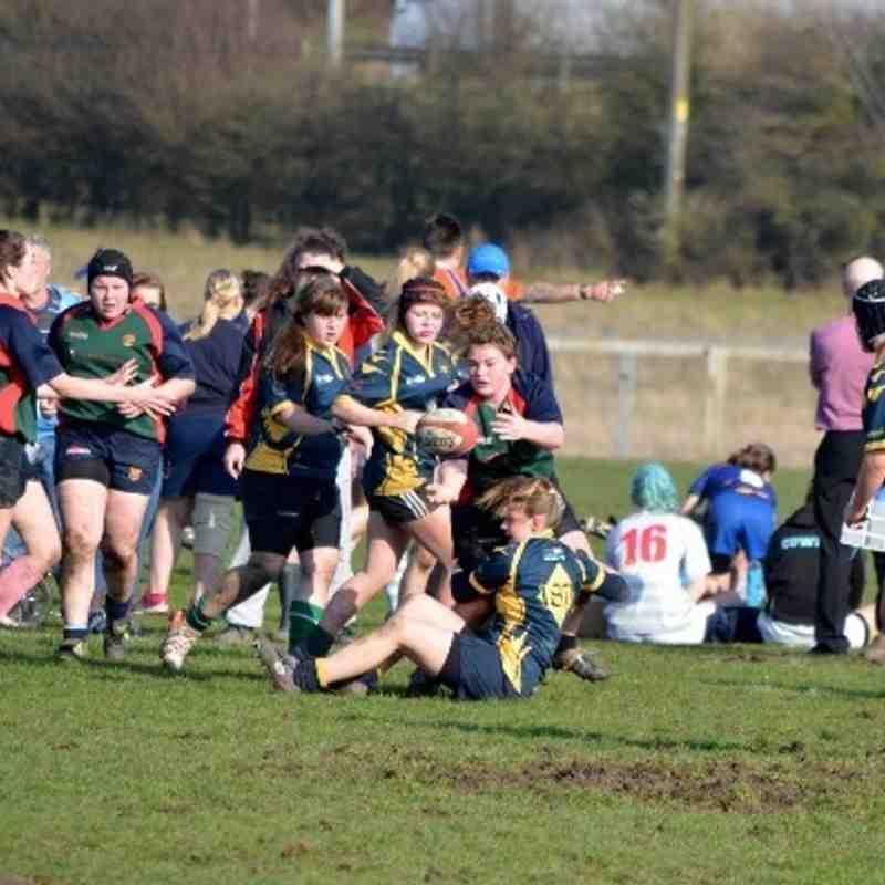 Worcester RFC U15's Girls -v- Lichfield RFC - 9th March 2014