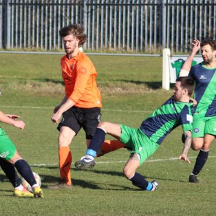 AFC BENTLEY v CLAY CROSS TOWN FC