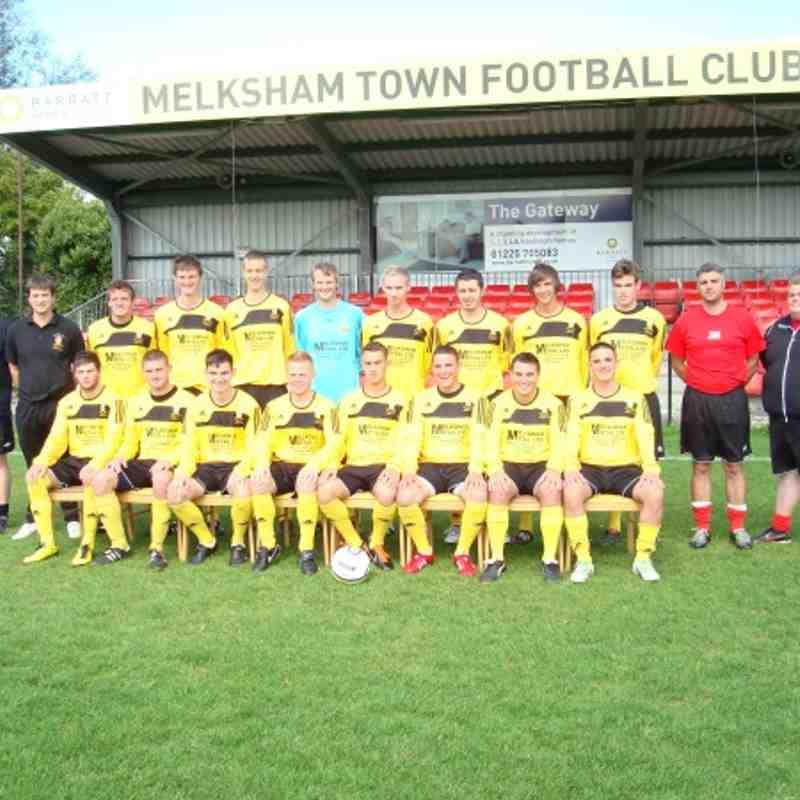 Melksham Town FC First team