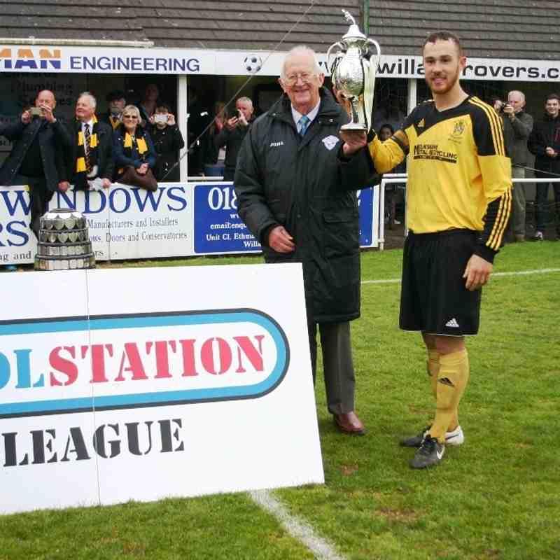 MTFC League Winners 14-15