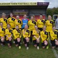 Ladies  beat Marlborough Town Ladies First 2 - 0