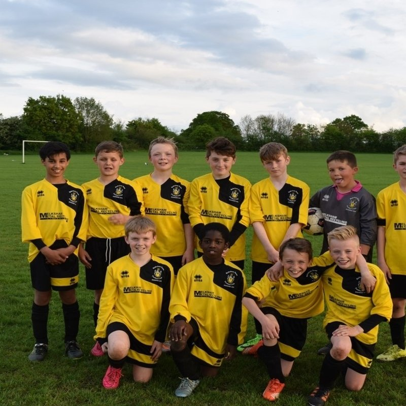 Under 14 Hurricanes beat Chippenham Town Youth U14 5 - 2
