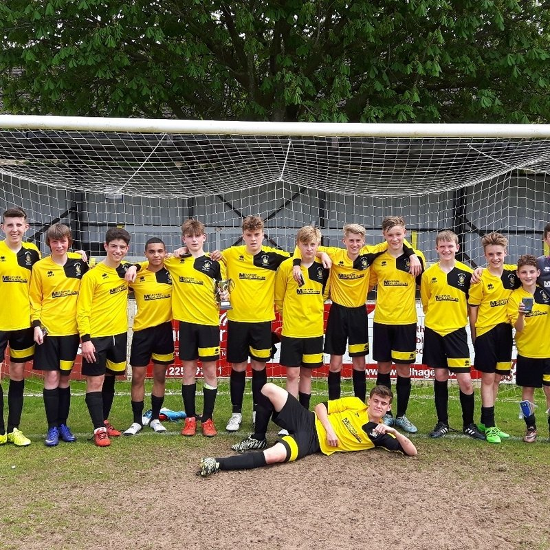 Under 16 Hurricanes beat BRADFORD TOWN YOUTH U16 FOXES 14 - 0