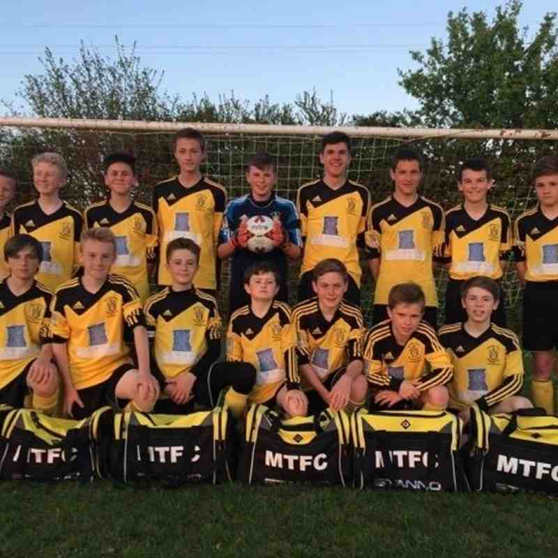Melksham Town FC Teams 14-15