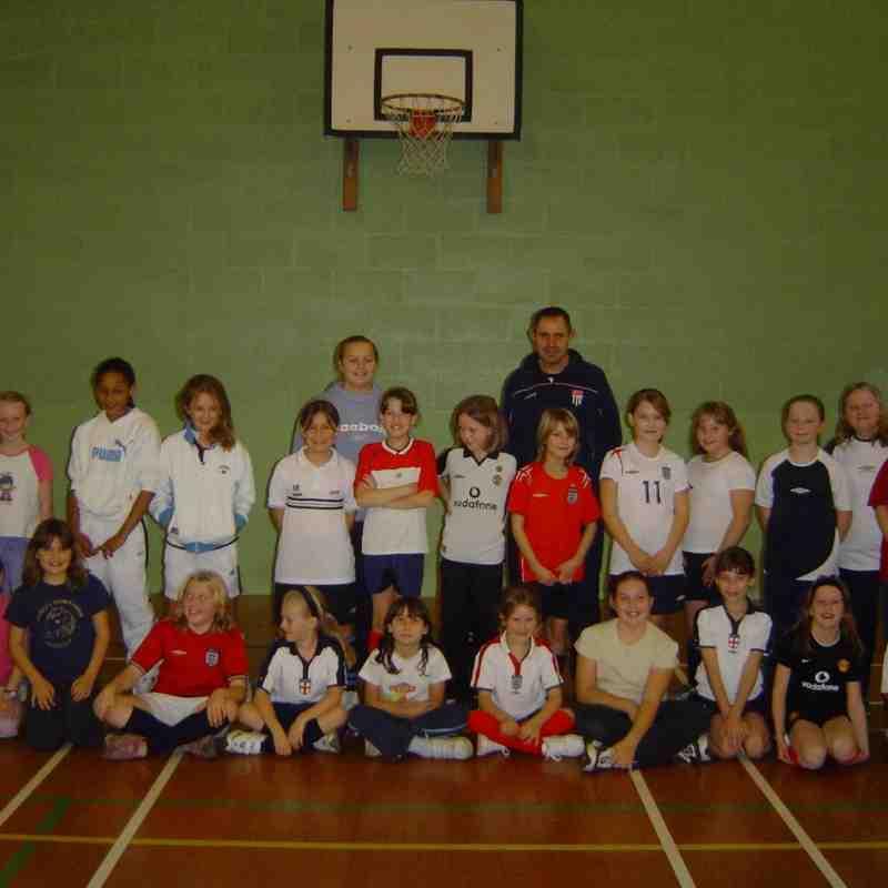 Archive Girls Football 2008 till 2014